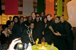 The Stingers perform with Stevie Wonder @ Hole in the Wall Benefit 2010