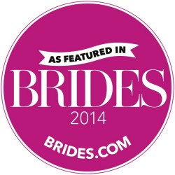 As Featured in Brides.com